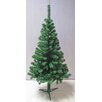 TrailWorthy 4' Green Artificial Christmas Tree with Stand