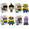 <strong>Funko</strong> Despicable Me 2 Pop! Vinyl Figures 4 Piece Set