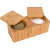 <strong>Bamboo Salt and Pepper Box</strong> by Trademark Innovations