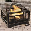 Pleasant Hearth Solus Deep Wood Burning Fire Pit
