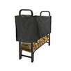 Pleasant Hearth Outdoor Steel Log Rack