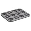 Cake Boss Novelty 12-Cup Nonstick Bakeware Molded Braid Cookie Pan