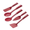 Cake Boss 5 Piece Kitchen Prep Tool Utensil Set