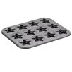Cake Boss Novelty 12-Cup Star Molded Cookie Pan