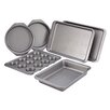 <strong>Cake Boss</strong> Basics Bakeware Nonstick 6 Piece Bakeware Set