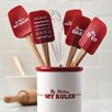 "<strong>Cake Boss</strong> Novelty ""My Kitchen, My Rules"" 11.5"" Spoonula"