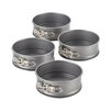 <strong>Novelty 4-Piece Mini Springform Pan Set</strong> by Cake Boss