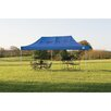ShelterLogic 10ft. x 20ft. Straight Leg Popup Canopy with Wheel Bag