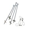 <strong>4 Pieces 30' Auger Anchor</strong> by ShelterLogic