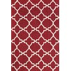 <strong>Feizy Rugs</strong> Cetara Red / White Rug