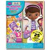 Artistic Sutdios Doc McStuffins Magnetic Wooden 25 Piece Doll Set