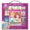 Artistic Sutdios Disney Princess Sticker Box with Handle