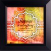 The James Lawrence Company Rejoice In Everything Framed Graphic Art