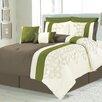 C.H.D Home Lavina 8 Piece Queen Comforter Set