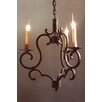 <strong>Laura Lee Designs</strong> Marina 3 Light Chandelier