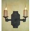 <strong>Laura Lee Designs</strong> Pamplona Double Wall Sconce