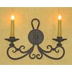 <strong>Laura Lee Designs</strong> Laguna Double Wall Sconce