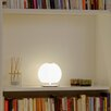 <strong>Casablanca</strong> BALL Table Lamp in matte Opal White
