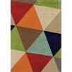 Kalora Mara Bold Triangles Area Rug