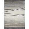 Kalora Ashbury Blue Stripes Area Rug