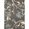Kalora Casa Grey / Blue Flower Rug