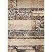 Kalora Platinum Antiqued Hardwood Rug