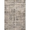 Kalora Sydney Simple Brown Distress Area Rug