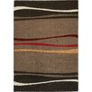 Kalora Sydney Gold/Red Stripe Area Rug