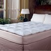 <strong>Blue Ridge Home Fashions</strong> 233 Thread Count Cotton Cover Featherbed