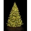 Hometime Snowtime 7.5' Green Pre-Lit Alaskan Spruce Artificial Christmas Tree with 750 Clear Lights