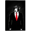 """Cortesi Home """"Domesticated Monkey"""" by Nicklas Gustafsson Graphic Art on Canvas"""