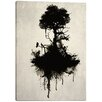 """Cortesi Home """"Last Tree Standing"""" by Nicklas Gustafsson Graphic Art on Canvas"""