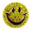 Fantasyard Happy Face Lapel Crystal Brooch