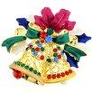 <strong>Christmas Bell Christmas Wreath Christmas Crystal Brooch Pendant</strong> by Fantasyard