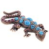 Fantasyard Lizard Crystal Brooch