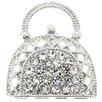 <strong>Fantasyard</strong> Lady Handbag Crystal Brooch