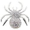 Fantasyard Spider Crystal Brooch
