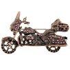 Fantasyard Harley Davidson Motorcycle Sports Crystal Brooch