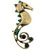 Fantasyard Seahorse Aquatic Crystal Pin Brooch