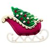 <strong>Fantasyard</strong> Christmas Sleigh Christmas Tree Perovskia Crystal Brooch
