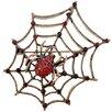 Fantasyard Spider Crystal Brooch Pendant