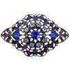 Fantasyard Flower Crystal Brooch