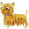 Fantasyard Scottie Dog Animal Crystal Brooch