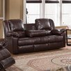 <strong>Burgas Reclining Sofa with Drop-Down Cup Holder</strong> by Milton Green Star