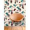 <strong>Astek Wallcovering Inc.</strong> Mambo for Cats Tiles Wallpaper