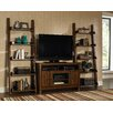 """Eagle Furniture Manufacturing Jaden 48"""" TV Stand with 2 Inclining Bookshelf Piers"""