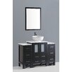"Bosconi Contemporary 48"" Vanity Set with Single Sink"
