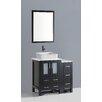 "Bosconi Contemporary 36"" Single Vanity Set"