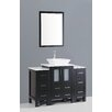 "Bosconi Contemporary 48"" Single Vanity Set"