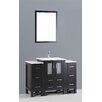 "Bosconi Contemporary 48"" Single Sink Vanity Set"